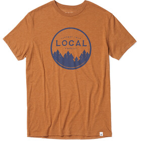 tentree Support Your Forest T-Shirt Men Brown Sugar